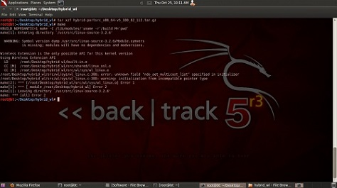 BlackTrack - Distribución Linux para Test de Seguridad.